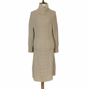 Claudia Nichole 100% Cashmere Knit Sweater Dress M